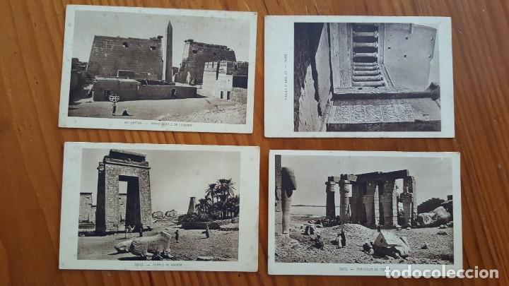 LOTE DE 4 ANTIGUAS TARJETAS POSTALES DE EGYPTO. SIN CIRCULAR. AÑOS 20-30. (Postales - Postales Extranjero - África)