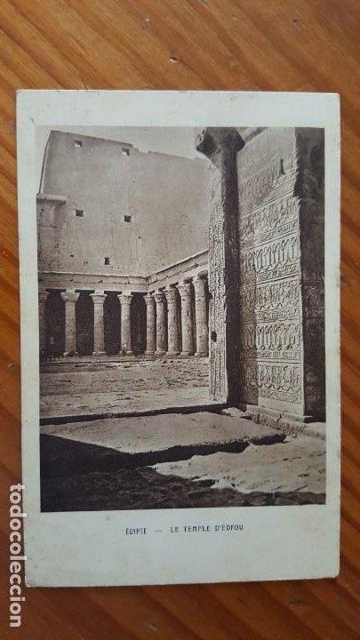 Postales: LOTE DE 4 ANTIGUAS TARJETAS POSTALES DE EGYPTO. SIN CIRCULAR. AÑOS 20-30. - Foto 2 - 195302616