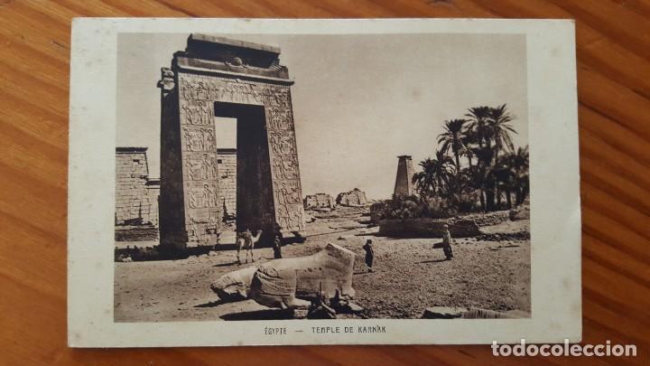 Postales: LOTE DE 4 ANTIGUAS TARJETAS POSTALES DE EGYPTO. SIN CIRCULAR. AÑOS 20-30. - Foto 8 - 195302616