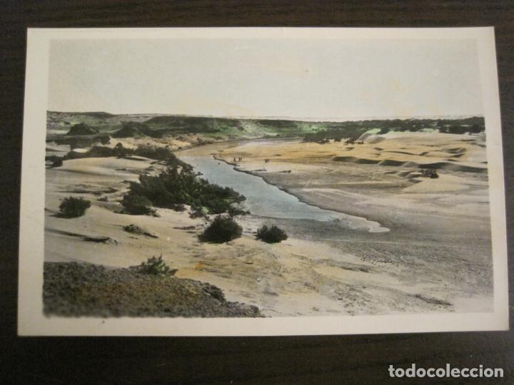 AAIUN-SAHARA ESPAÑOL-9-FOTO A.DE PORRAS-POSTAL FOTOGRAFICA ANTIGUA-(68.174) (Postales - Postales Extranjero - África)
