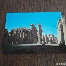 Postales: POSTAL DE TEMPLO DE KARNAK, EGIPTO.. Lote 195433796