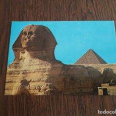 Postales: POSTAL DE ESFINGE, GIZA, EGIPTO.. Lote 195433820