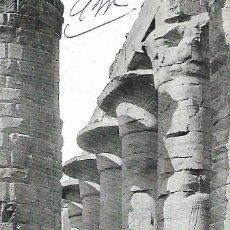 Postais: EGIPTO - VISTA DEL TEMPLO DE KARNAK (1919). Lote 196049145