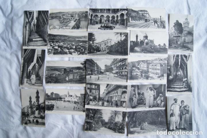 ALGER ARGELIA LOTE DE 20 POSTALES ARABES COSTUMBRES S19 (Postales - Postales Extranjero - África)