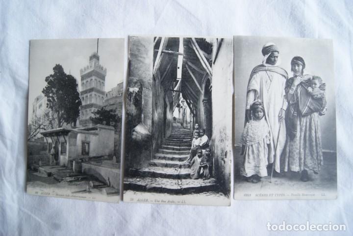 Postales: ALGER ARGELIA LOTE DE 20 POSTALES ARABES COSTUMBRES S19 - Foto 2 - 197944711