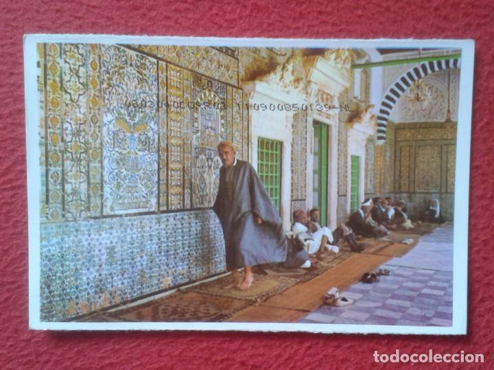 POSTAL POST CARD MAGREB TÚNEZ TUNISIA TUNISIE TUNIS KAIROUAN MOSQUÉE SIDI SAHBI MEZQUITA MOSQUE..... (Postales - Postales Extranjero - África)