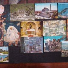 Postales: TURQUÍA , ESTAMBUL, LOTE DE 13 POSTALES. Lote 198638451
