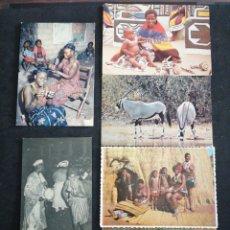Postales: ÁFRICA , LOTE DE 6 POSTALES. Lote 198640258