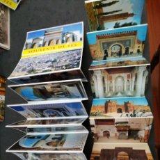 Postales: FES Y CASABLANCA, MARRUECOS, 2 LIBRITOS DE PONTALES. Lote 199270226
