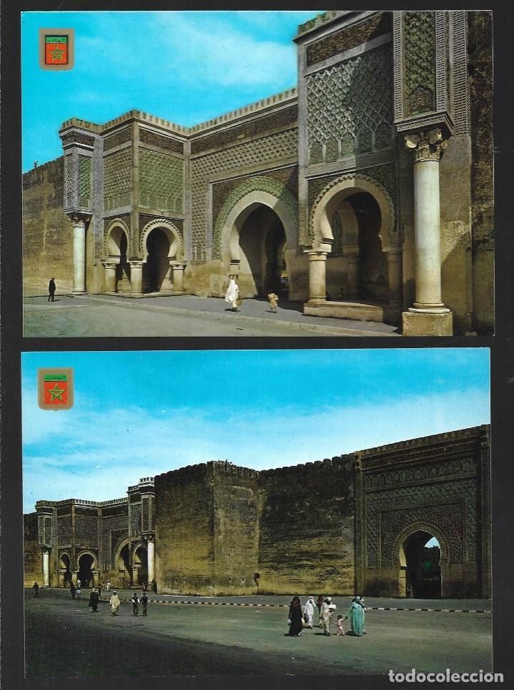 Postales: BONITO LOTE DE 24 POSTALES ANTIGUAS DE MARRUECOS, SIN CIRCULAR. TODAS NUEVAS - Foto 6 - 204147036