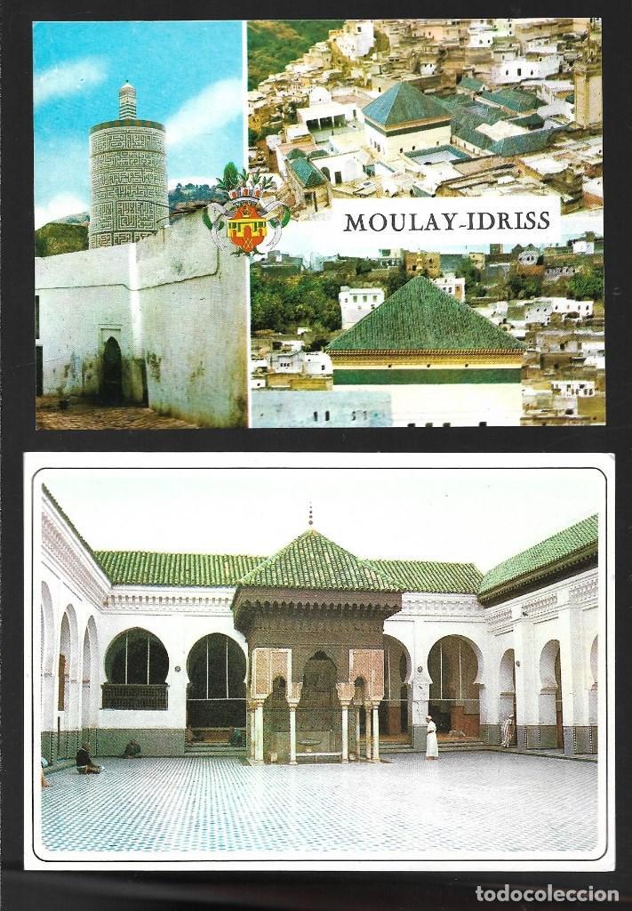 Postales: BONITO LOTE DE 24 POSTALES ANTIGUAS DE MARRUECOS, SIN CIRCULAR. TODAS NUEVAS - Foto 7 - 204147036