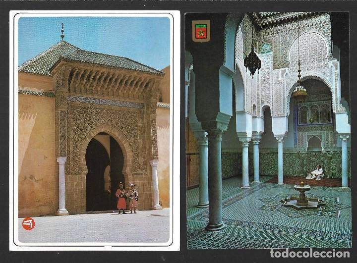 Postales: BONITO LOTE DE 24 POSTALES ANTIGUAS DE MARRUECOS, SIN CIRCULAR. TODAS NUEVAS - Foto 9 - 204147036