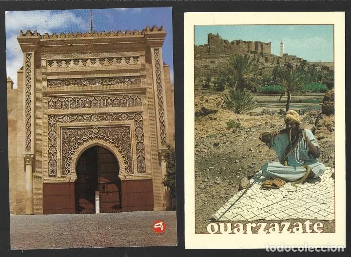 Postales: BONITO LOTE DE 24 POSTALES ANTIGUAS DE MARRUECOS, SIN CIRCULAR. TODAS NUEVAS - Foto 10 - 204147036