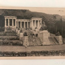 Postales: TARJETA POSTAL DE CAPE TOWN, RHODES' MEMORIAL. Lote 205257931