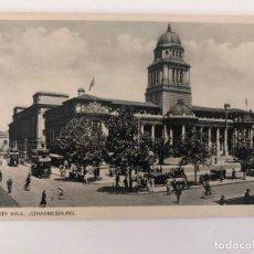 Postales: TARJETA POSTAL DE JOHANNESBURG, CITY HALL.. Lote 205260033