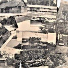 Postales: LOTE 28 POSTALES PRINCIPIOS SIGLO XX SIN CIRCULAR DE BAS CONGO, COLONIA DE BÉLGICA. Lote 205435308