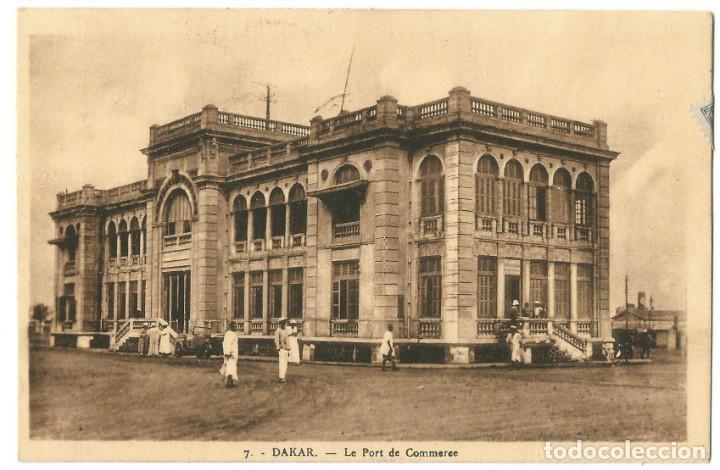 DAKAR - SELLOS MAURITANIA - 1910 (Postales - Postales Extranjero - África)