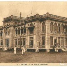 Postales: DAKAR - SELLOS MAURITANIA - 1910. Lote 205602047