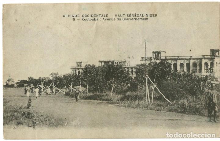 AFRIQUE OCCIDENTAL FRANÇAIS - KOULOUBÁ - SENEGAL/NIGER - 1914 (Postales - Postales Extranjero - África)