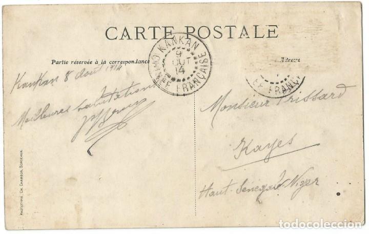 Postales: AFRIQUE OCCIDENTAL FRANÇAIS - KOULOUBÁ - SENEGAL/NIGER - 1914 - Foto 2 - 205602202