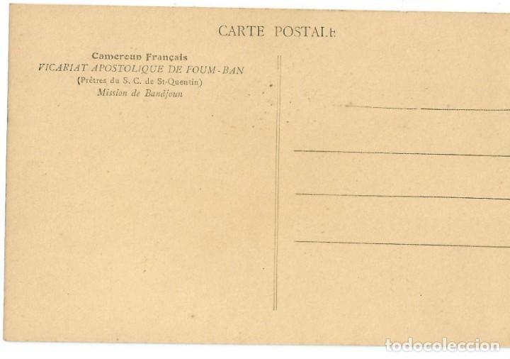 Postales: AFRIQUE OCCIDENTAL FRANÇAIS - BANDJOUN - CAMERÚN - 1906 - Foto 2 - 205603151
