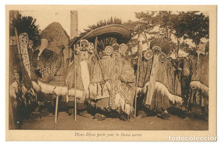 CAMERÚN FRANCÉS - GUERREROS - BANDJOUM 1910 (Postales - Postales Extranjero - África)