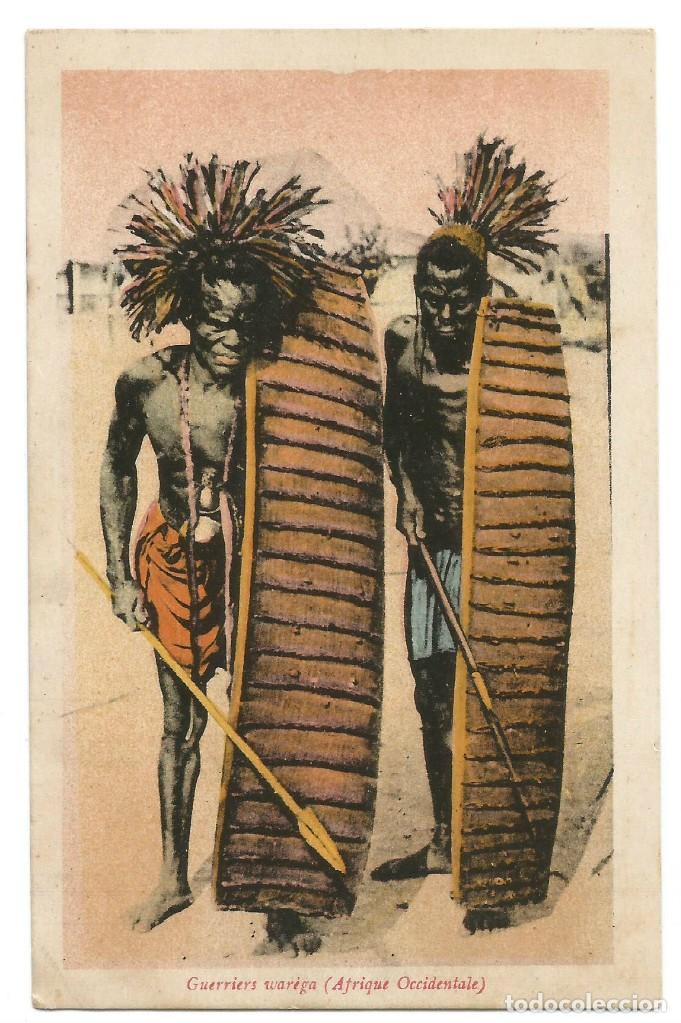 SOUDAN - GUERRIERS WARIGA - AFRIQUE OCCIDENTALE - 1906 (Postales - Postales Extranjero - África)