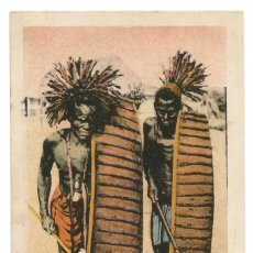 Postales: SOUDAN - GUERRIERS WARIGA - AFRIQUE OCCIDENTALE - 1906. Lote 205604042