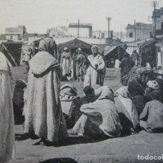 Postales: MARRUECOS-CASABLANCA-PLAZA DE LA PUERTA DE MARRAKECH-POSTAL ANTIGUA-(70.604). Lote 205729605