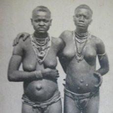Postales: AFRICA OCCIDENTAL-MUJERES JOVENES DIOLAS-POSTAL ANTIGUA-(70.605). Lote 205729827