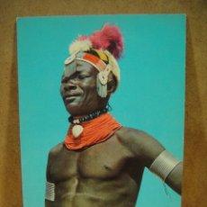Postales: KENYA , TRIBU TURKANA - NO FRANQUEADA. Lote 205747347