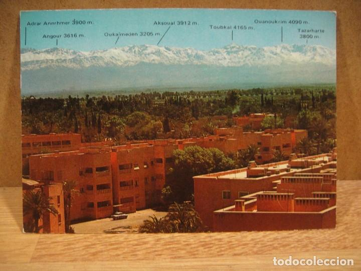 MARRAKECH - NO FRANQUEADA (Postales - Postales Extranjero - África)