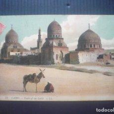 Postales: EL CAIRO-TOMBS OF THE KALIFS.. Lote 205762650