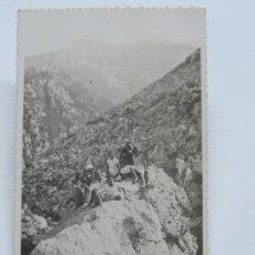 Postales: FOTO POSTAL DE TETUAN, UN DIA DE EXCURSION, 9 DE SEPTIEMBRE DE 1933, NO CIRCULADA, ESCRITA.. Lote 206363365