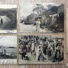 Postales: 10 POSTALES ANTIGUAS AFRICA DEL NORTE. Lote 206372116