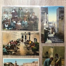 Postales: 10 POSTALES ANTIGUAS AFRICA DEL NORTE. Lote 206372716