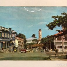 Postales: GUINEA ECUATORIAL. POSTAL NO.9, BATA, VISTA DE LA CIUDAD. EDICIONES RAKER (H.1960?) ESCRITA. Lote 206403112