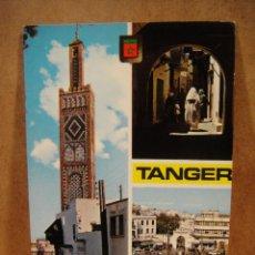 Postales: TANGER , MARRUECOS - FRANQUEADA 1973. Lote 206509038