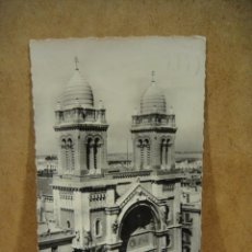 Postales: TUNEZ , CATEDRAL - FRANQUEADA 1954. Lote 206510242