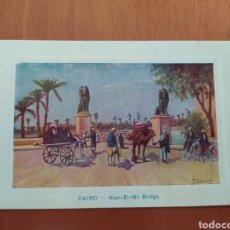 Postales: POSTAL ANTIGUA DE EL CAIRO. Lote 207077060