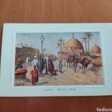 Postales: POSTAL ANTIGUA DE EL CAIRO. Lote 207077700