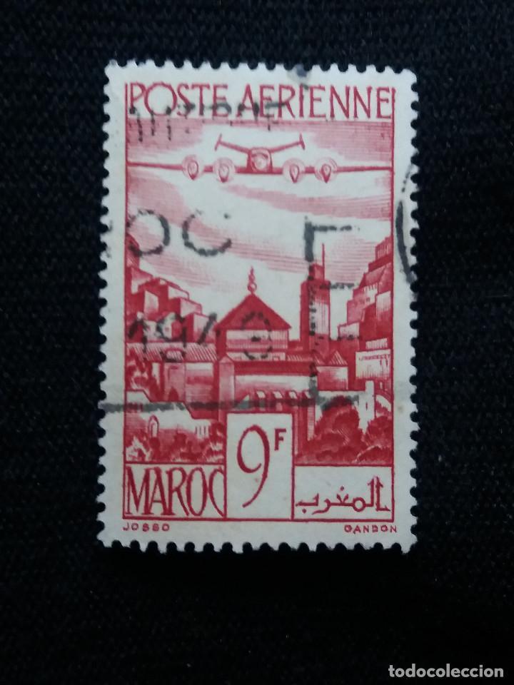 MARRUECOS MAROC, 9F, AEREO, AÑO 1947. (Postales - Postales Extranjero - África)