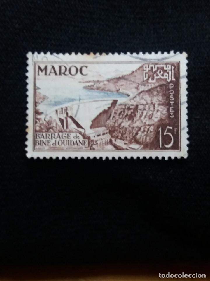 MARRUECOS MAROC, 15F, EL QUIDAME, AÑO 1953. (Postales - Postales Extranjero - África)