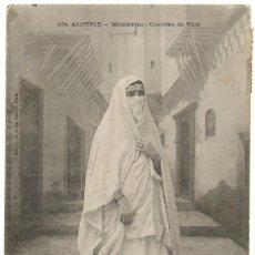 Postales: ARGELIA - SCENES ET TYPES - KABYLE, BEDUINA - FEMME - CIRCULADA 1914. Lote 210158966