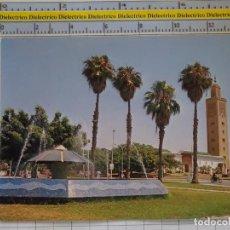 Postales: POSTAL DE MARRUECOS. RABAT PLACE DE LA GRANDE MOSQUEE. 942. Lote 210228627