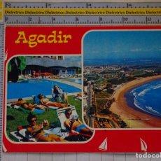 Postales: POSTAL DE MARRUECOS. VISTAS DE AGADIR. 943. Lote 210228673