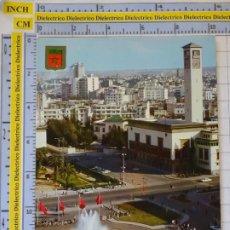 Postales: POSTAL DE MARRUECOS. CASABLANCA. FUENTE LUMINOSA. PLAZA DE LAS NACIONES UNIDAS. 949. Lote 210229182