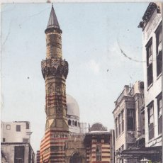 Postales: EL CAIRO (EGIPTO) - MEZQUITA ABOU - EL ELA - EXTERIOR. Lote 211441556