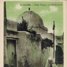 Postales: TANGER, MARRUECOS. Nº 58, CASBAH MARABOUT DE SIDI-BERRAISOUL. ED. LEBRUN FRÉRÉS. MACON.. Lote 211973768