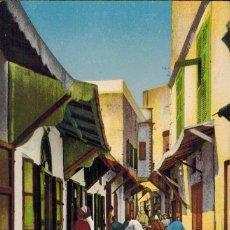 Postales: TANGER, MARRUECOS. CALLE DE LA ALCAZABA. Nº 20. Lote 211974426